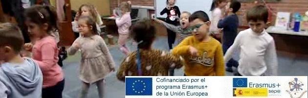Proyecto Erasmus + 'Arte por la Convivencia': los peques del CEIP Valdemera y la fusión para abrazar el 2019