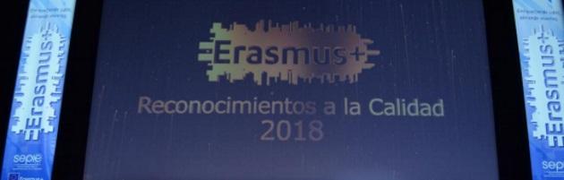 Proyectos Erasmus+: Reconocimientos a la calidad