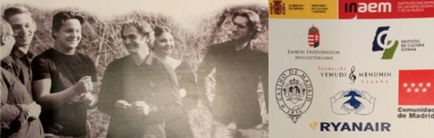 La Embajada de Hungría organiza en Madrid el concierto del Centro de Talento de Snétberger, en colaboración con la FYME y su proyecto 'Arte por la Convivencia'