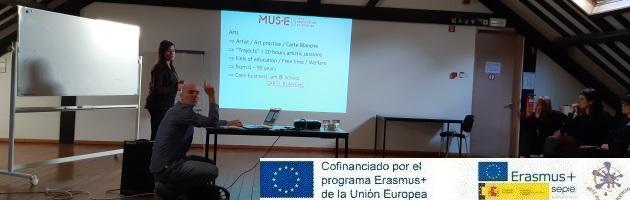 Encuentro de 'Arte por la Convivencia' en Bruselas: el testimonio de María Jesús Pérez Carrasco, coordinadora del Programa en el CEIP Francisco Tomás y Valiente
