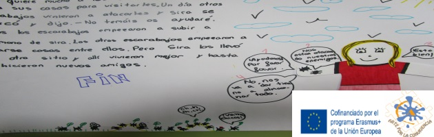 'Arte por la Convivencia': 'Historias por terminar', en el CEIP Francisco Tomás y Valiente